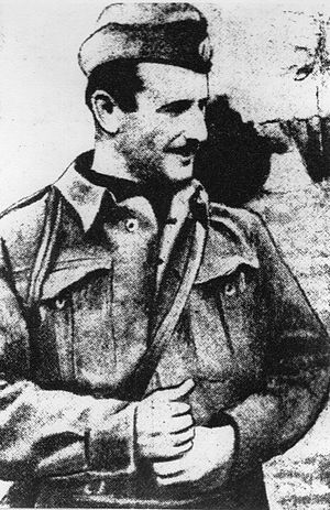 Democratic Army of Greece - Markos Vafeiadis, commander-in-chief of DSE