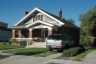 National Register of Historic Places listings in Box Elder County, Utah - Image: George Anderson House Brigham City Utah