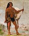 George Catlin - E'e-a-chín-che-a, Red Thunder, Son of Black Moccasin - 1985.66.172 - Smithsonian American Art Museum.jpg