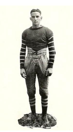 George Roark - Roark pictured in The Bethanian 1922, Bethany yearbook