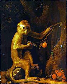 George Stubbs- Green Monkey.JPG