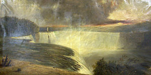 George Wallis - George Wallis, The Niagara Falls (1855).