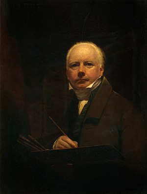 George Watson (painter) - Self portraint of George Watson Scottish painter