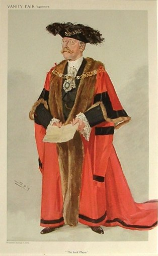 George Wyatt Truscott Vanity Fair 4 November 1908