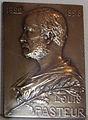 George henri prud'homme, placca commemorativa a louis pasteur, 1910.JPG