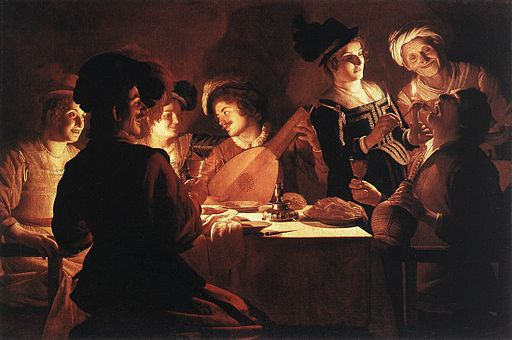 Gerard van Honthorst - Supper Party - WGA11652