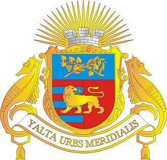 Autonomous Republic of Crimea - Image: Gerb Yalty
