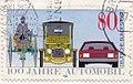 German stamp 100 Jahre Automobil 1986 - entwertet.jpg