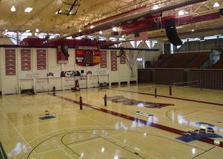 Gersten Pavilion Sports arena at Loyola Marymount University