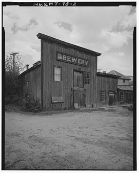 Gilbert Brewery, Wallace Street, Virginia City, founded in 1866 by Henry S. Gilbert (1833-1902) Gilbert Brewery Virginia City Montana.jpg