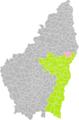 Gilhac-et-Bruzac (Ardèche) dans son Arrondissement.png