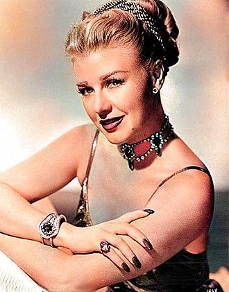 Ginger Rogers - 1940s publicity portrait