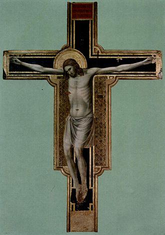 Tempio Malatestiano - The Crucifix by Giotto.