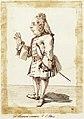Giovanni Bononcini, caricature de Pier Leone Ghezzi, 1720.jpg