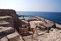 Girne Festung auf der Mauer Ri Hafen.jpg
