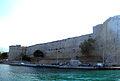 Girne Festungsmauer an Hafenausfahrt.jpg