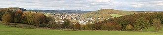 Gladenbach - Glandenbach from south