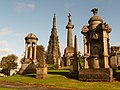 Glasgow, striking memorials at the Necropolis - geograph.org.uk - 1535446.jpg