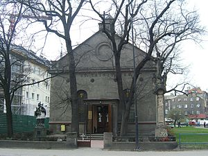 Armenians in Poland - Armenian Rite Catholic Church of the Holy Trinity in Gliwice, built in 1836-38.