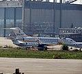 Global 5000 Vision OE-LPZ, ZeptAir in Belgrade airport.jpg