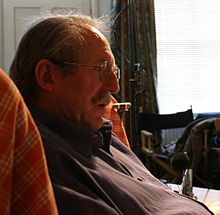 Raworth in 2003 (photographed by Gloria Graham)