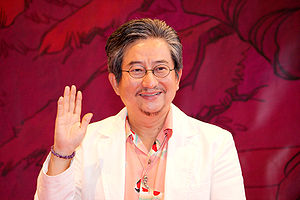 Go Nagai - Go Nagai at Japan Expo 2008, Paris, France (2008-07-04).