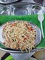 Gobi noodles at Kumaran Tiffin Center Korattur Chennai India.jpg