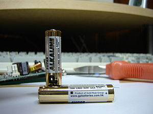 Gold Peak AAA (LR03) Batteries Taken by Renato...