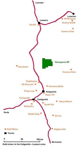 Daisy Milano Gold Mine - Gold mines in the Kalgoorlie region