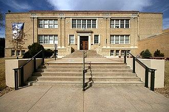 Golden High School - Old Golden High School