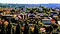 Golub-Dobrzyń - widok miasteczka z okna zamku. - panoramio.jpg