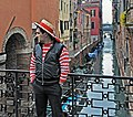 Gondolier. Cloudy day in Venice.jpg