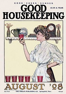 Homemaking act of overseeing the organizational, financial, day-to-day operations of a house or estate