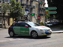 Google Street View Wikipedia Wolna Encyklopedia