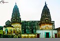 Gopaleshwar(left) and Thakurdwara(right) temple in Bhagwant Nagar.jpg