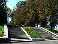 Gorokhiv Volynska-Memorial complex Hill of glory-stair.jpg