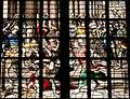 Gouda, Glas 8, Bestrafung des Tempelräubers Heliodoros - Ausschnitt.jpg