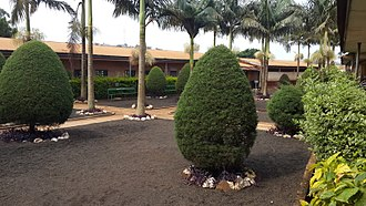 Bafoussam - Partial view of Government Bilingual High School