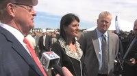 File:Governor Nikki Haley Answers Questions After Haddon House Groundbreaking.webm