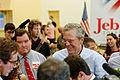 Governor of Florida Jeb Bush at TurboCam, Barrington, NH 1 on August 26th by Michael Vadon.jpg