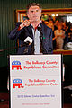 Governor of Maryland Bob Ehrlich at Belknap County Republican LINCOLN DAY FIRST-IN-THE-NATION PRESIDENTIAL SUNSET DINNER CRUISE, Weirs Beach, New Hampshire May 2015 by Michael Vadon 09.jpg
