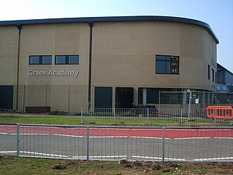 Grace Academy, Solihull - Image: Grace Academy geograph.org.uk 237471
