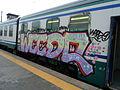 Graffiti on rolling stock in Rome 200.JPG