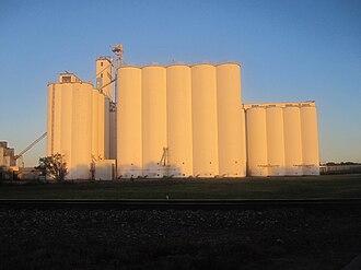Liberal, Kansas - Grain elevator in Liberal (2010)
