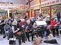 Grainger Market, Silver Ukulele Players Christmas Concert (geograph 3260375).jpg