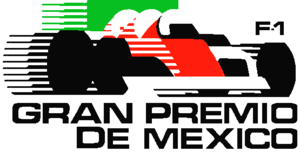 Mexican Grand Prix - Classic Mexican GP event logo.