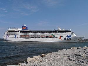 Ibero Cruises - Image: Grand Mistral Tallinn 22 May 2012
