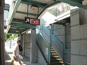 Grant City (Staten Island Railway station) - Southbound platform