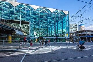 Den Haag Centraal railway station railway station in The Hague
