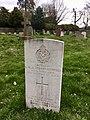 Gravestone of G.M.A. Hobart-Hampden, Church of St. Mary Magdelene, Great Hampden, April 2020.jpg